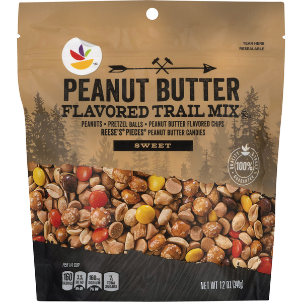 Stop & Shop Sweet Trail Mix Peanut Butter Flavored