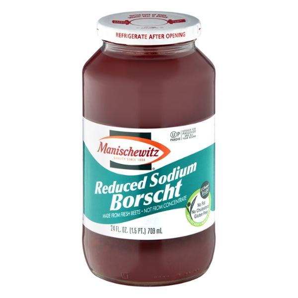Manischewitz Borscht Reduced Sodium