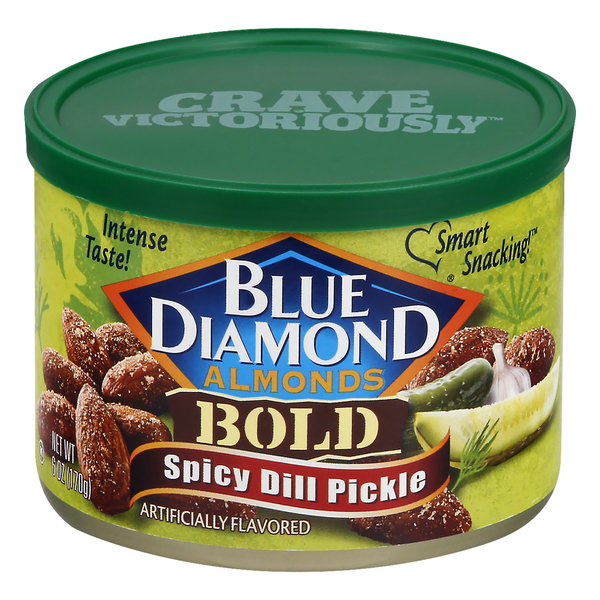 Blue Diamond Almonds Bold Spicy Dill Pickle