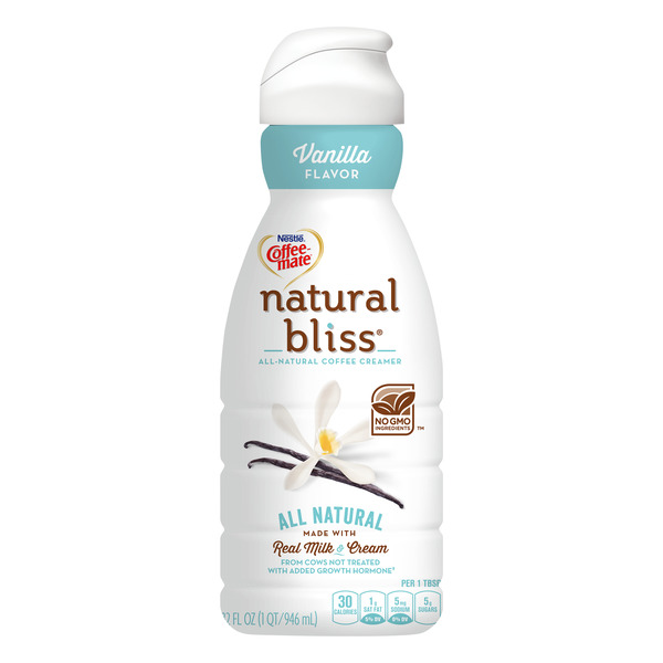 Nestle Coffee-mate Natural Bliss Coffee Creamer Vanilla Refrigerated
