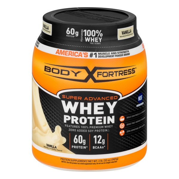 Body Fortress Super Avanced Whey Protein Vanilla