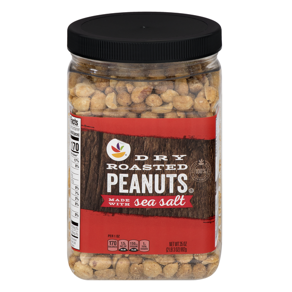 Giant Dry Roasted Peanuts with Sea Salt