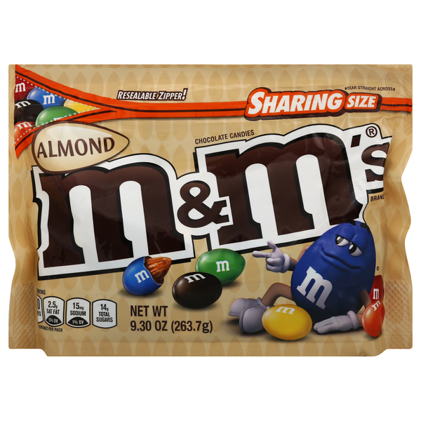 M&M's Almond Chocolate Candies Sharing Size