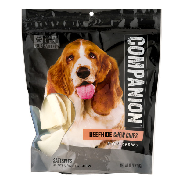Companion Dog Chews Beefhide Chew Chips