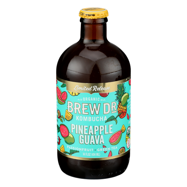 Brew Dr Kombucha Pineapple Guava Organic Limited Release
