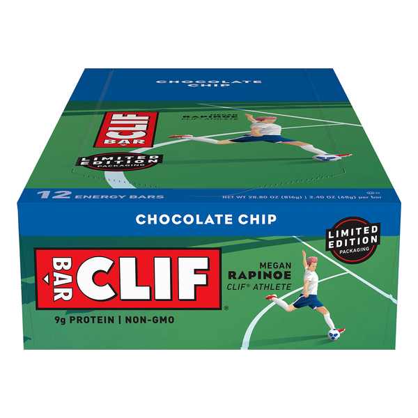Clif Energy Bars Chocolate Chip - 12 ct