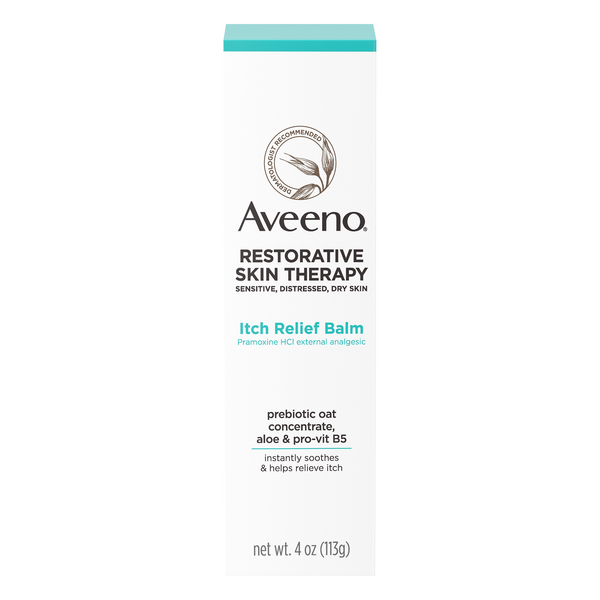 Aveeno Restorative Skin Therapy Itch Relief Balm