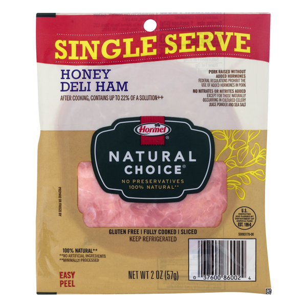 Hormel Deli Ham Honey Single Serve