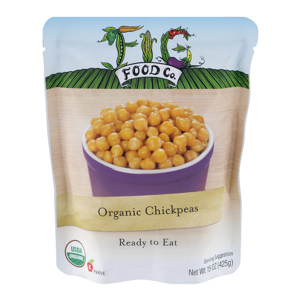Fig Food Co. Organic Chickpeas Ready to Eat