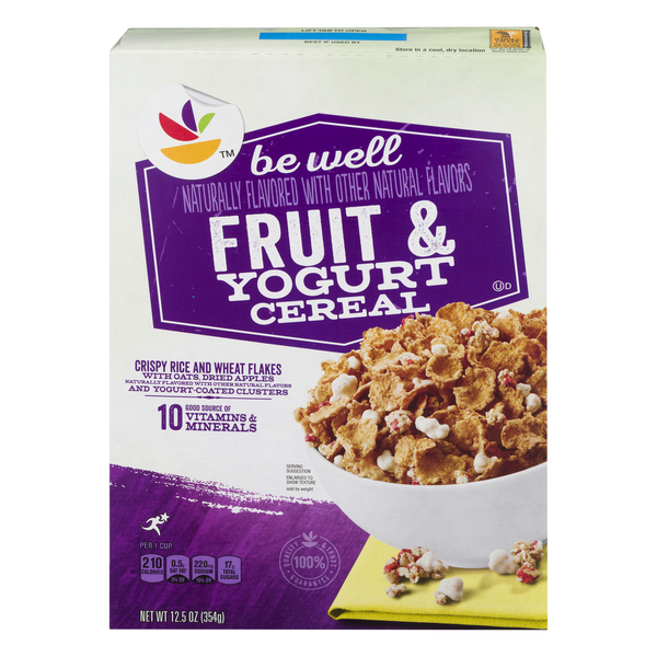 Giant Be Well Cereal Fruit & Yogurt