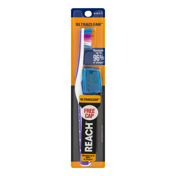 Reach Ultraclean Toothbrush Soft with Free Cap