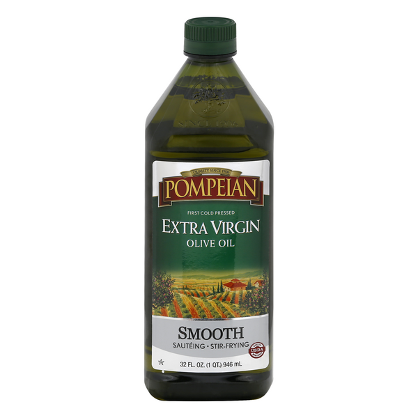 Pompeian Olive Oil Extra Virgin Smooth