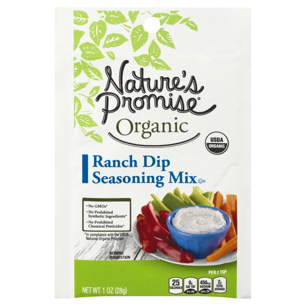 Nature's Promise Organic Seasoning Mix Ranch Dip