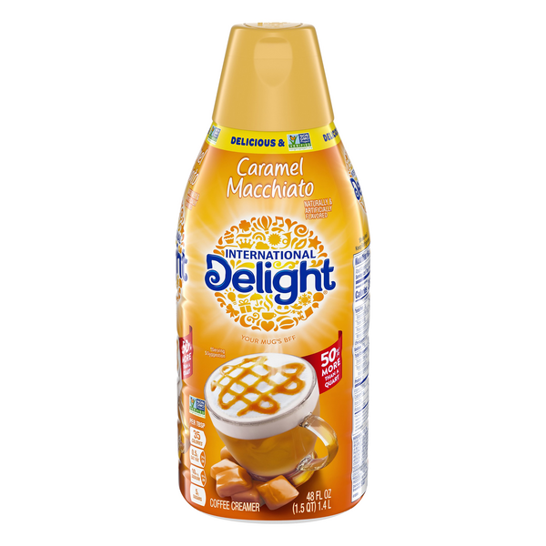 International Delight Coffee Creamer Caramel Macchiato Refrigerated