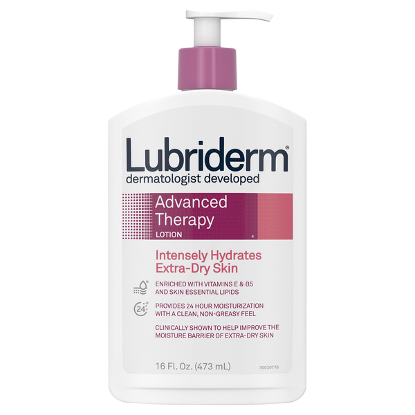 Lubriderm Advanced Therapy Lotion Extra Dry Skin Pump