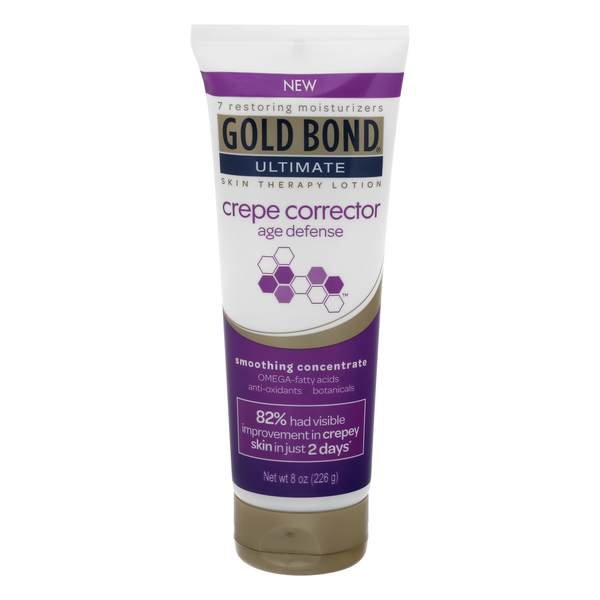 Gold Bond Ultimate Crepe Corrector Age Defense Skin Therapy Lotion