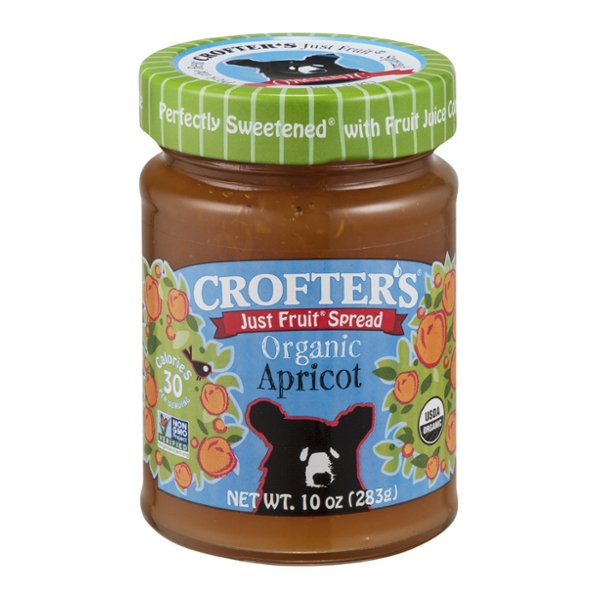 Crofter's Just Fruit Spread Apricot Organic