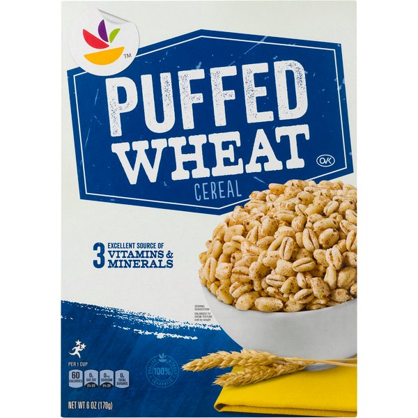 Giant Cereal Puffed Wheat