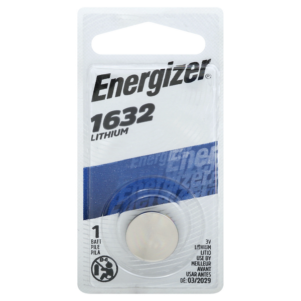 Energizer Lithium Battery 1632