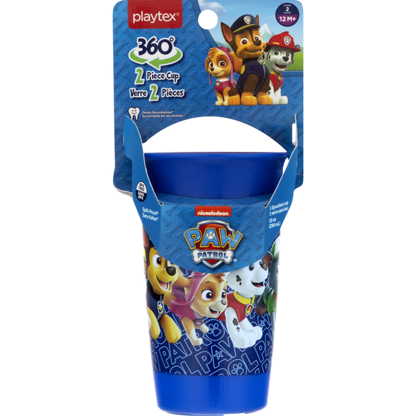 Playtex Spoutless Cup 360 Degrees Spill-Proof Paw Patrol Stage 2