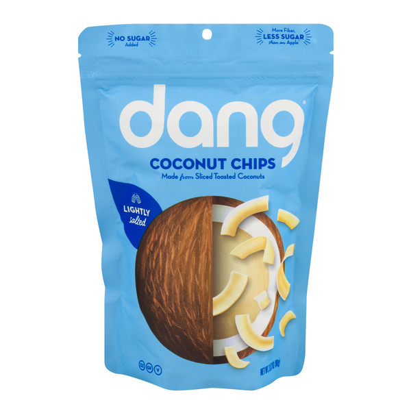 Dang Coconut Chips Lightly Salted