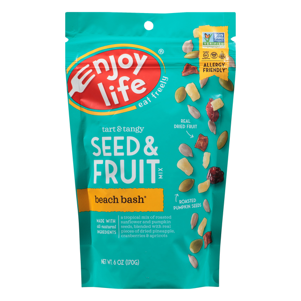 Enjoy Life Tart & Tangy Seed & Fruit Mix Beach Bash Gluten Free