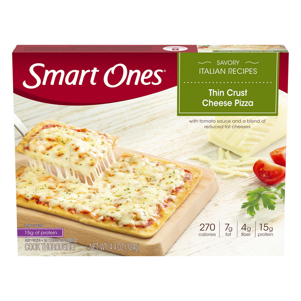 Smart Ones Savory Italian Recipes Thin Crust Pizza Cheese
