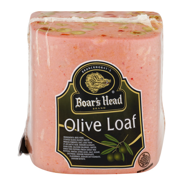 Boar's Head Deli Olive Loaf (Regular Sliced)