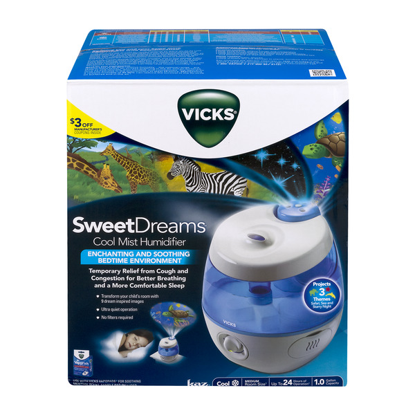 Vicks Sweet Dreams Cool Mist Humidifier