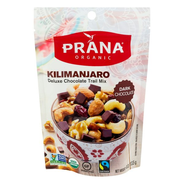 Prana Kilimanjaro Deluxe Chocolate Trail Mix Organic