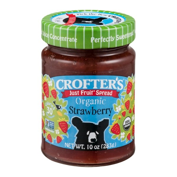 Crofter's Just Fruit Spread Strawberry Organic