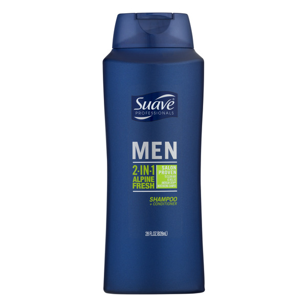 Suave Men 2-in-1 Shampoo & Conditioner Alpine Fresh