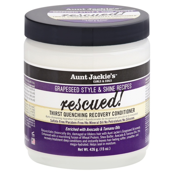 Aunt Jackie's Grapeseed Style & Shine Recipes Rescued! Conditioner