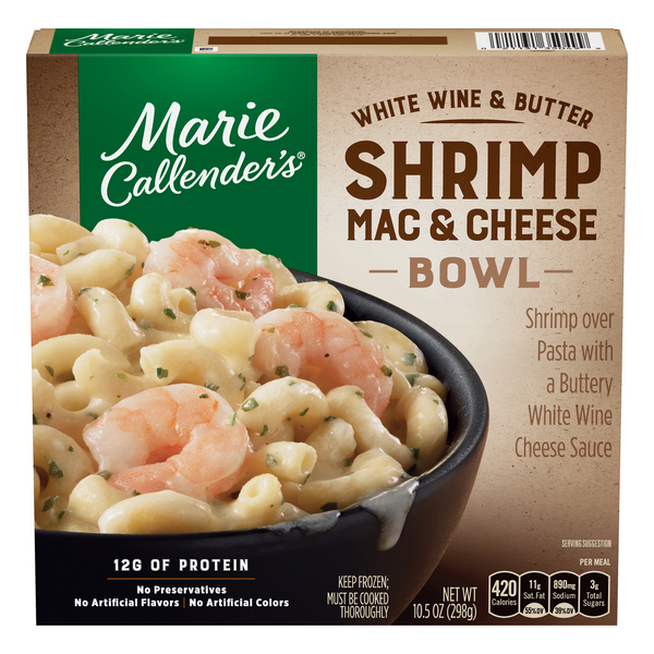Marie Callender's Shrimp Mac & Cheese
