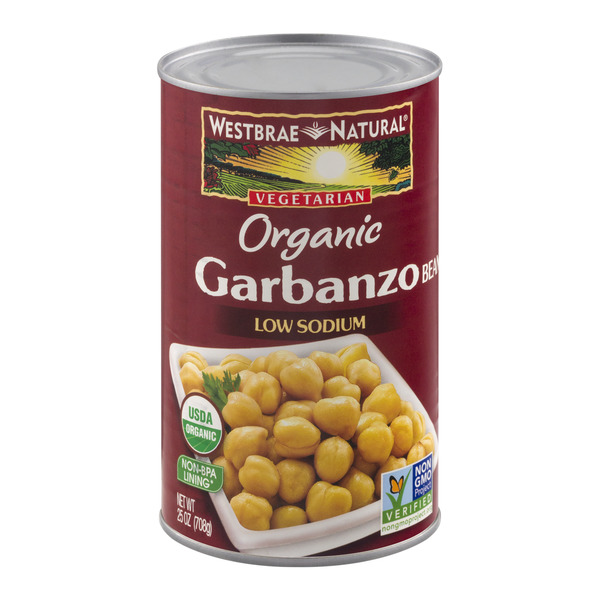 Westbrae Natural Vegetarian Garbanzo Beans Low Sodium Organic
