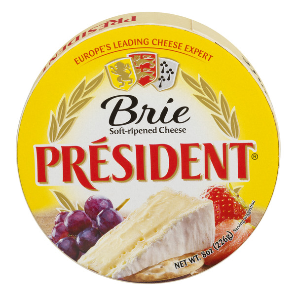 President Soft-Ripened Brie Cheese