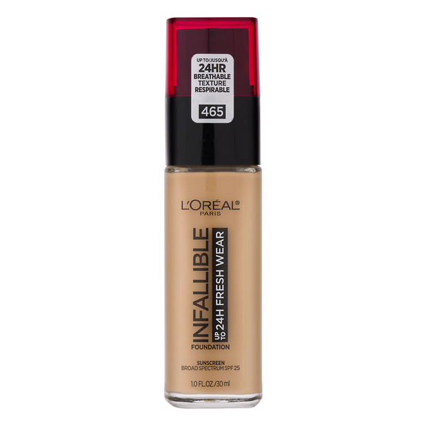 L'Oreal INFALLIBLE up to 24H Fresh Wear Foundation SPF 25 Sand 465