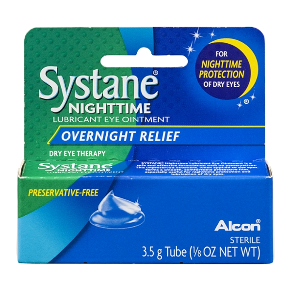 Systane Lubricant Eye Ointment Nighttime