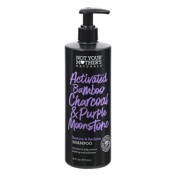 Not Your Mother's Naturals Shampoo Activated Charcoal & Purple Moonstone
