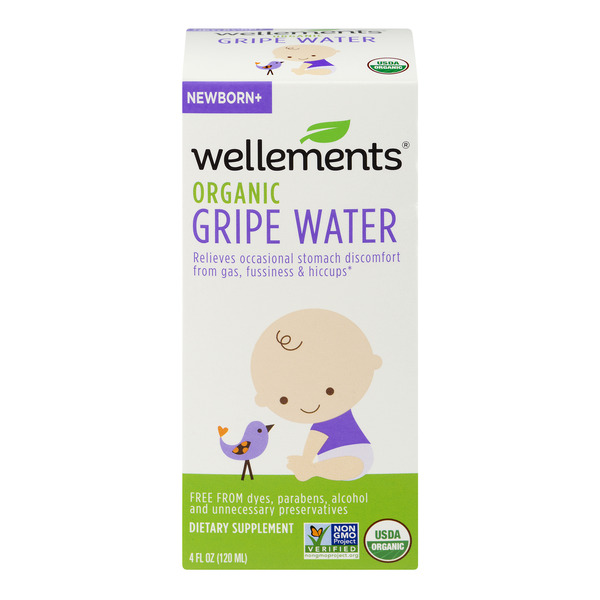 Wellements Gripe Water Newborn Organic