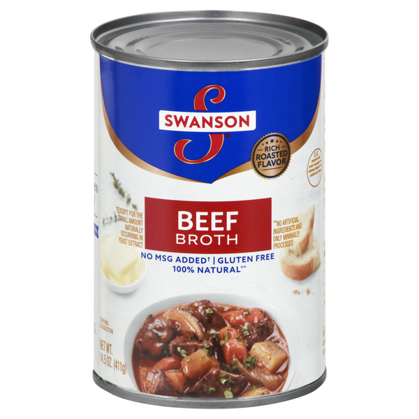 Swanson Beef Broth 100% Natural Gluten Free