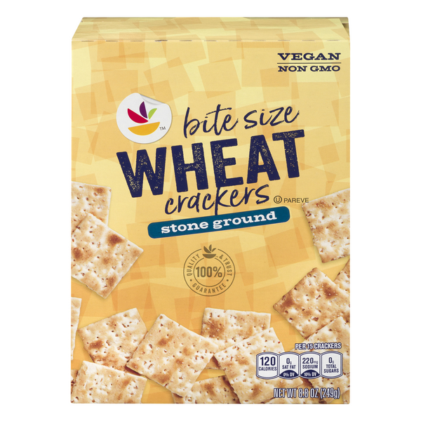 GIANT Bite Size Crackers Stone Ground Wheat