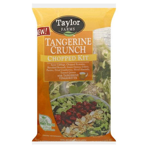 Taylor Farms Chopped Salad Kit Tangerine Crunch
