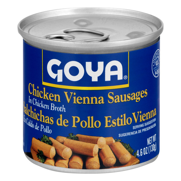 Goya Chicken Vienna Sausages In Chicken Broth