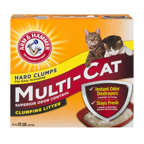 Arm & Hammer Multi-Cat Clumping Cat Litter Odor Control