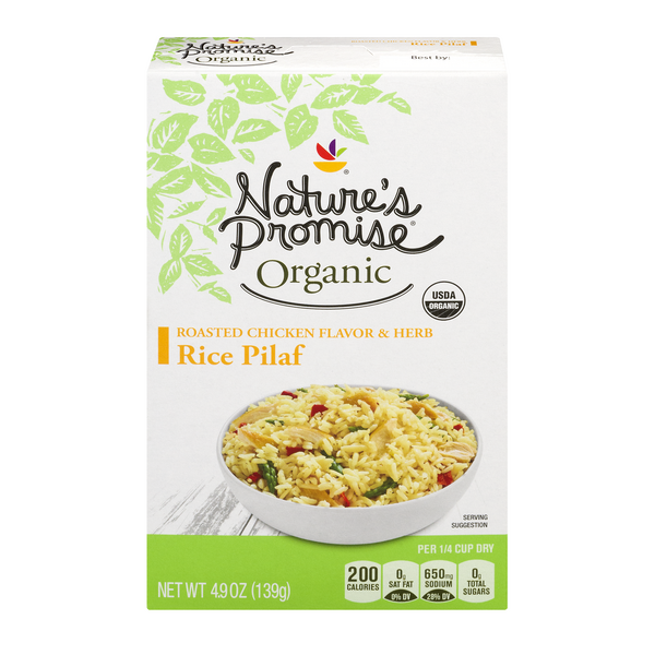 Nature's Promise Organic Rice Pilaf Roasted Chicken Flavor & Herb