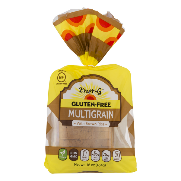 Ener-G Multigrain with Brown Rice Bread Gluten Free