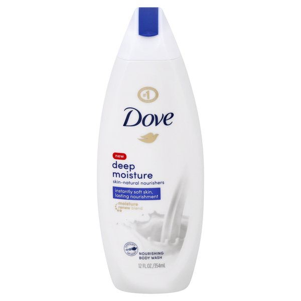 Dove Body Wash Nourishing Deep Moisture