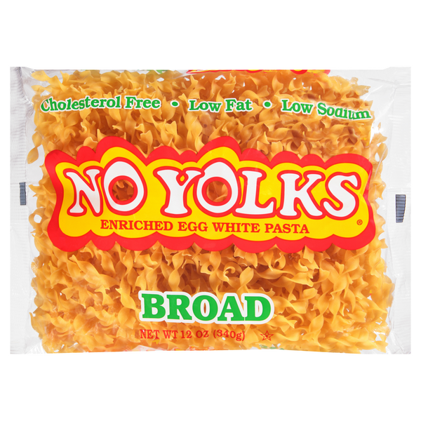 No Yolks Enriched Egg White Pasta Broad