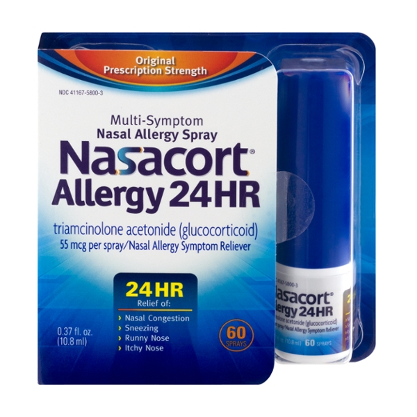 Nasacort Allergy 24HR Multi-Symptom Nasal Spray 60 Sprays
